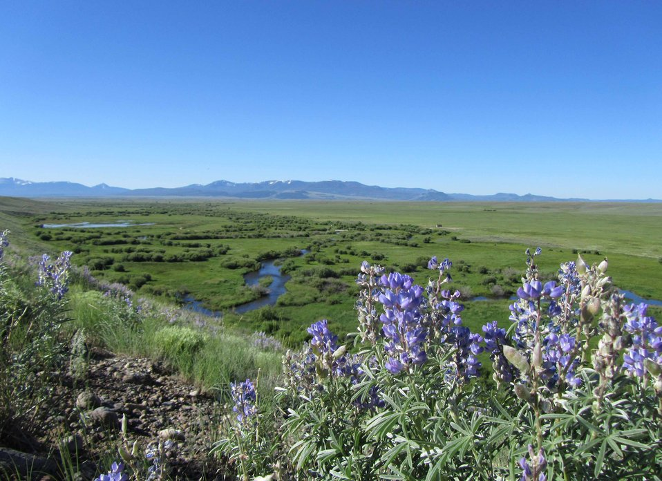 View of Arapaho National Wildlife Refuge