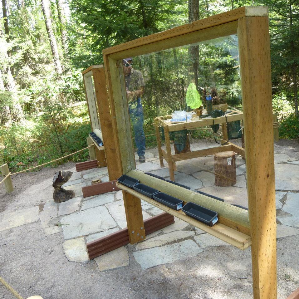 Creston's Nature Explore Outdoor Classroom