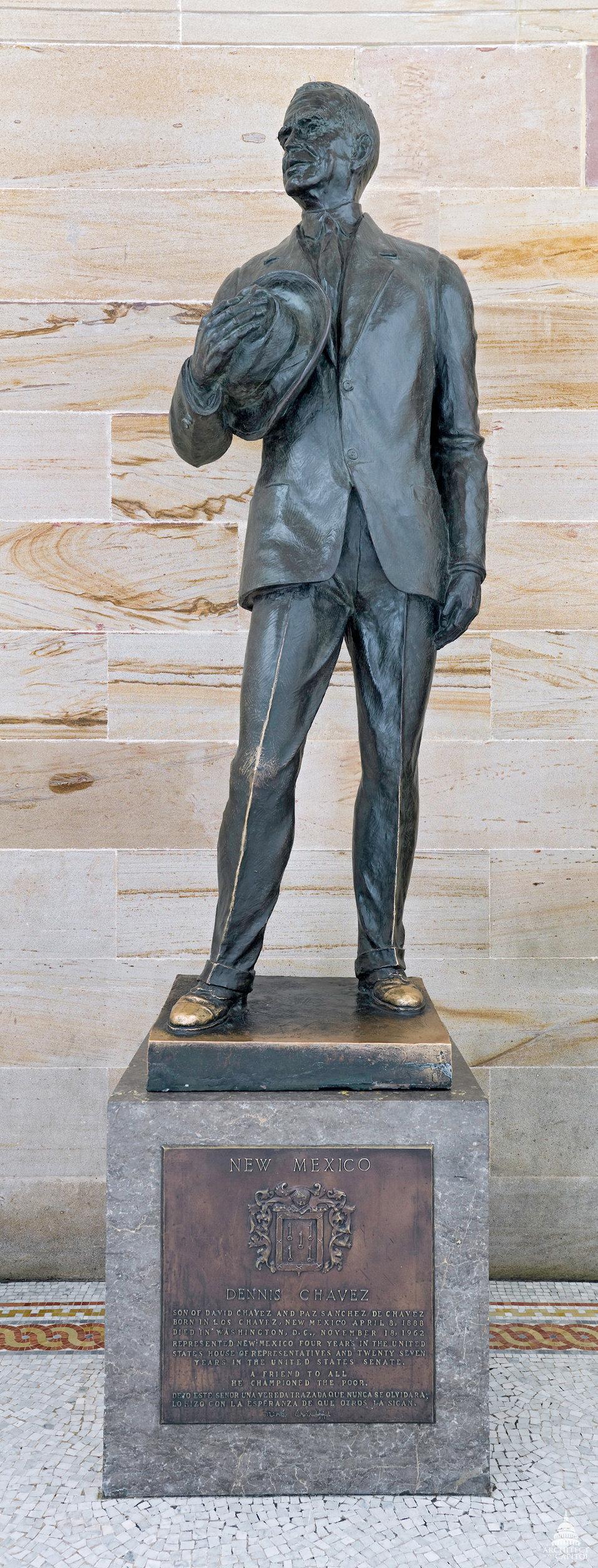 Dennis Chavez Statue