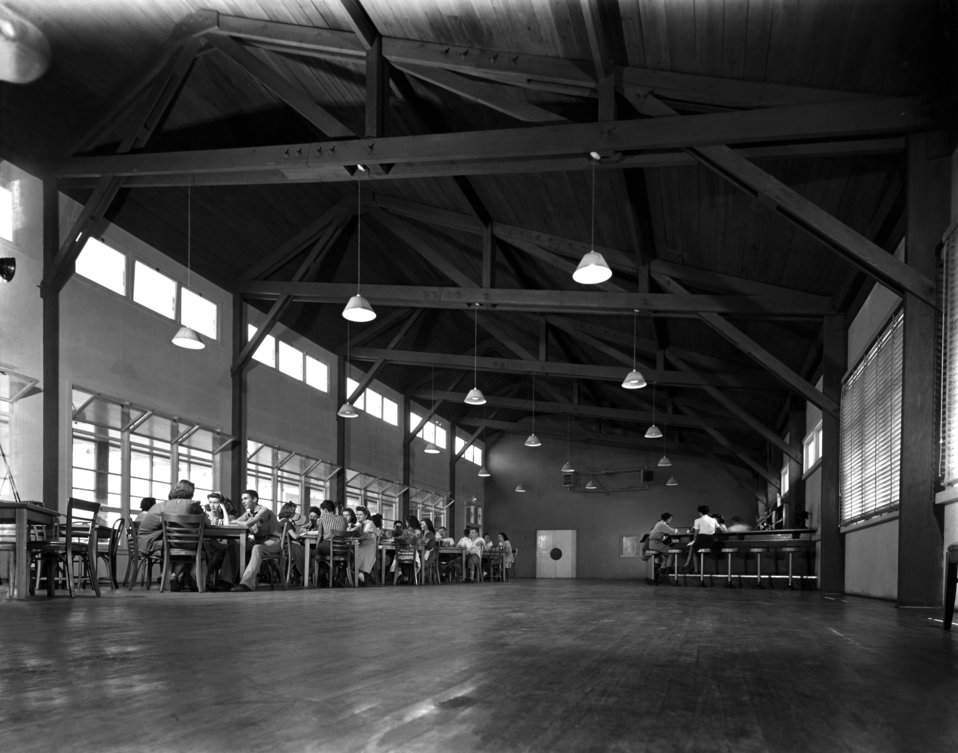 Recreation Hall Oak Ridge 1944