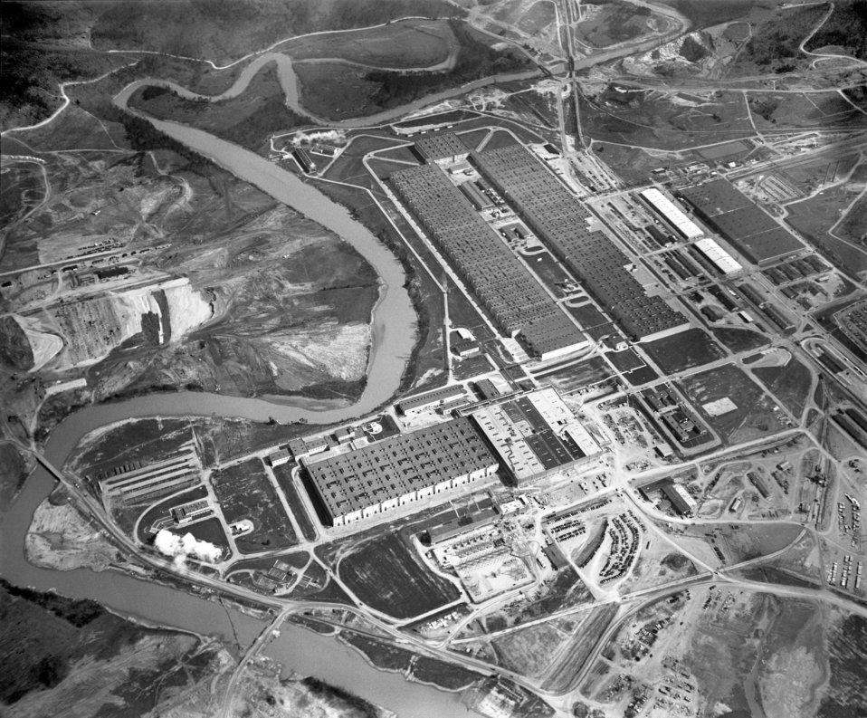 Air View K-25 General 1950 Oak Ridge