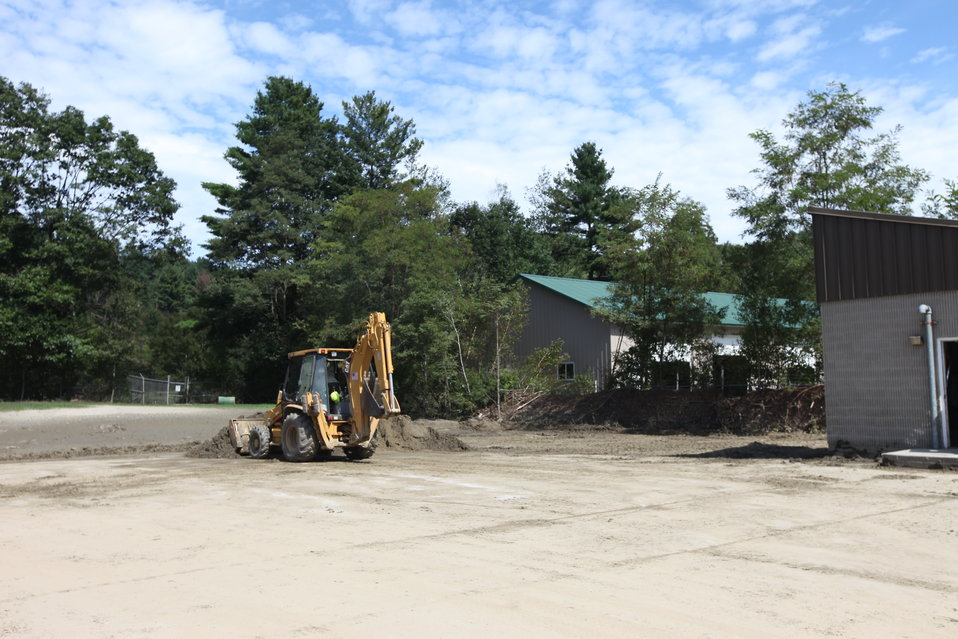 Storm damage clean-up at White River NFH