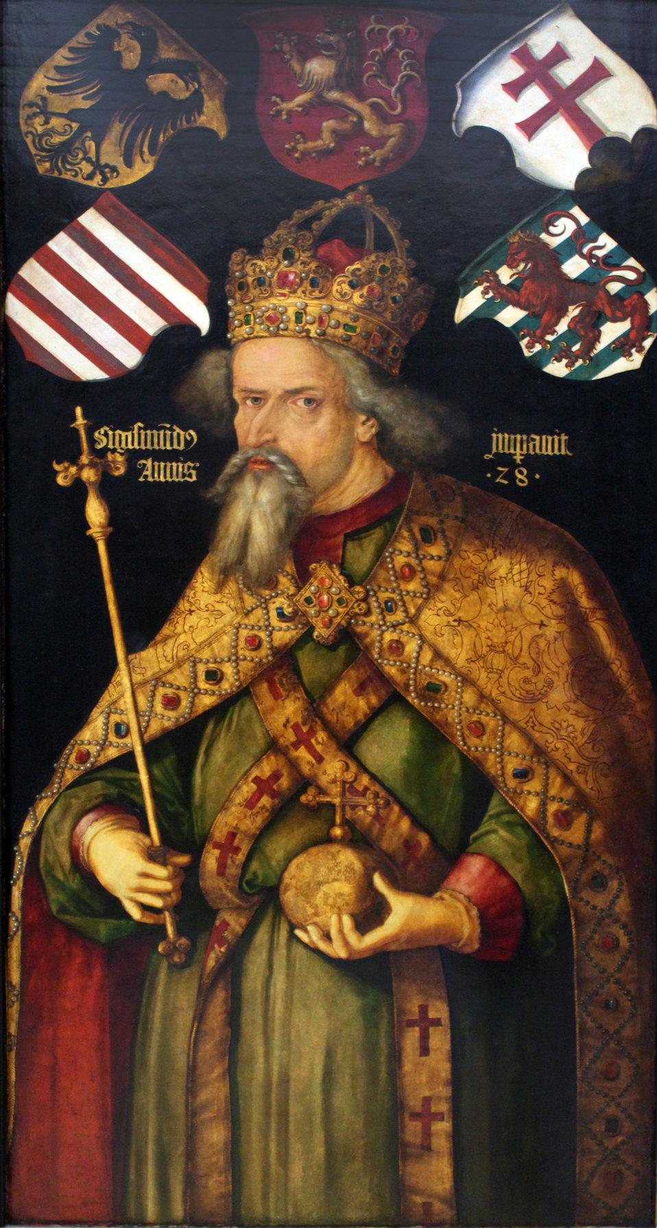 1512 Dürer Kaiser Sigismund anagoria.JPG