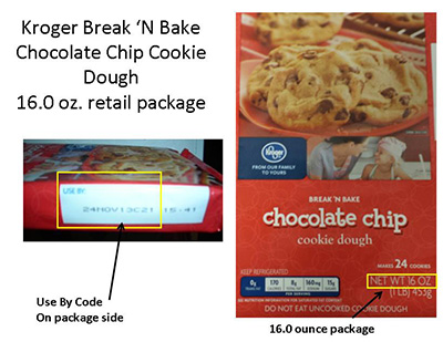 RECALLED – Chocolate Chip Cookie Dough