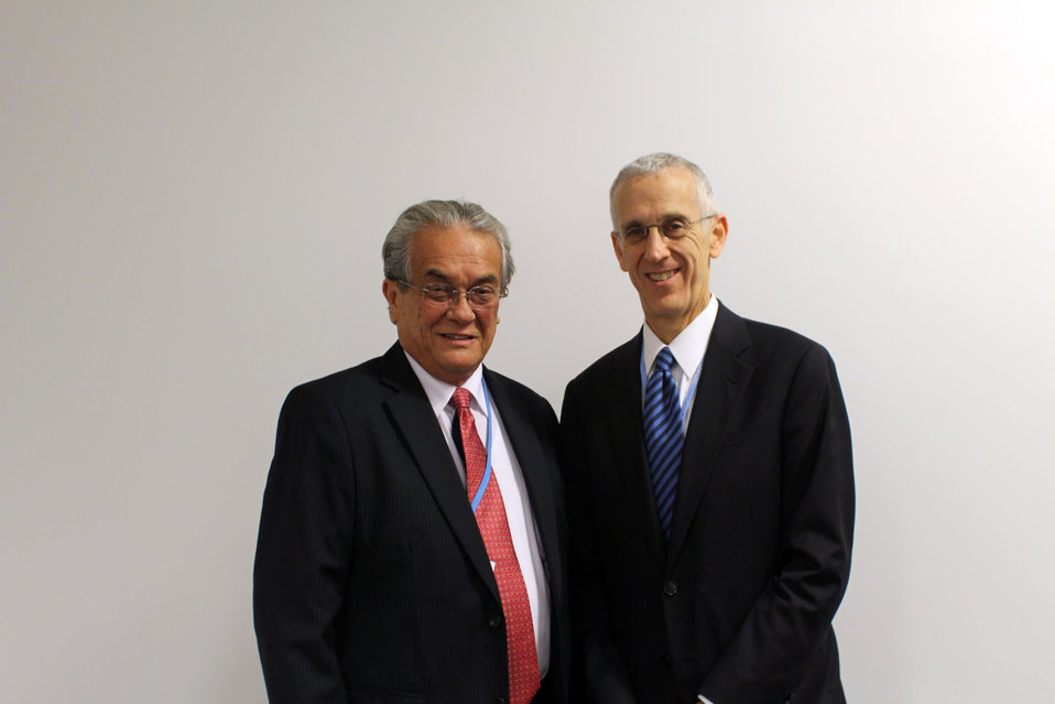 Special Envoy Stern With RMI Minister DeBrum