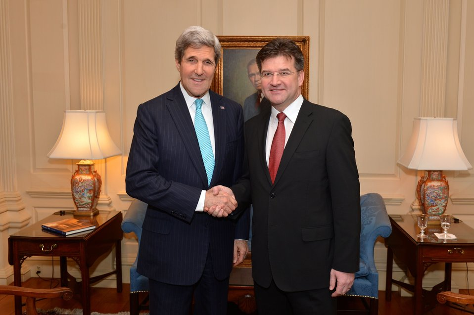 Secretary Kerry Meets With Slovak Deputy Prime Minister and Foreign Minister Lajcak