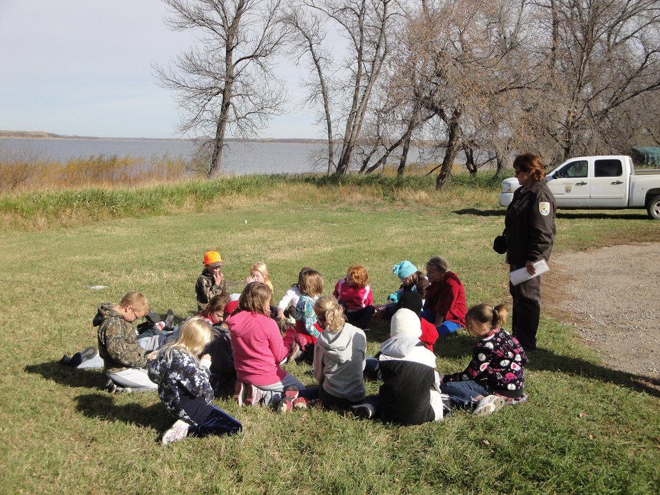 Youth at Arrowwood National Wildlife Refuge