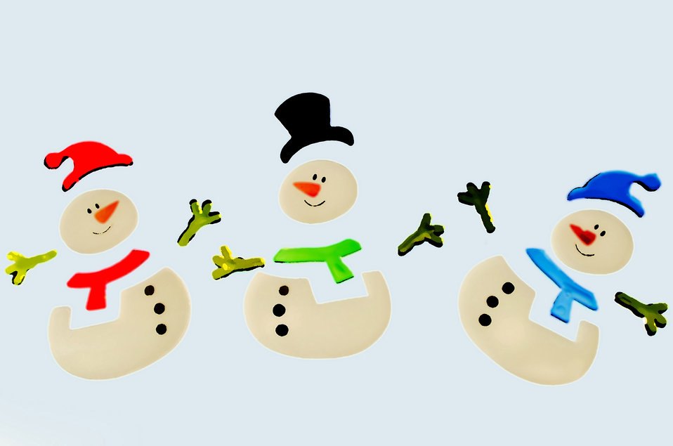 Drawing snowmen