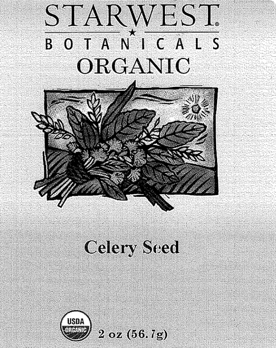 RECALLED - Organic Celery Seed