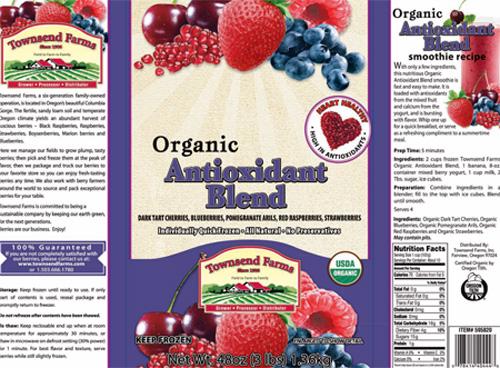 RECALLED – Organic Blend Antioxidant, Organic Antioxidant Berry Blend