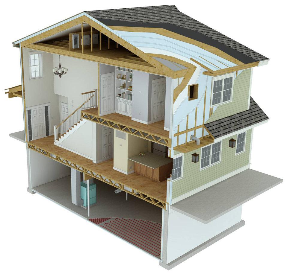 Net-Zero House
