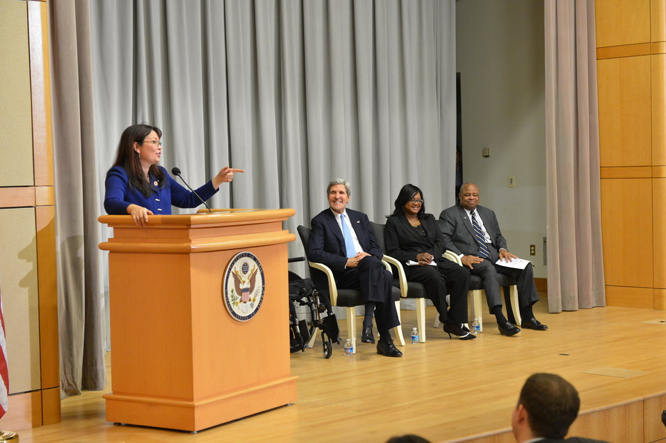 Congresswoman and Decorated Iraq Veteran Duckworth Delivers Remarks