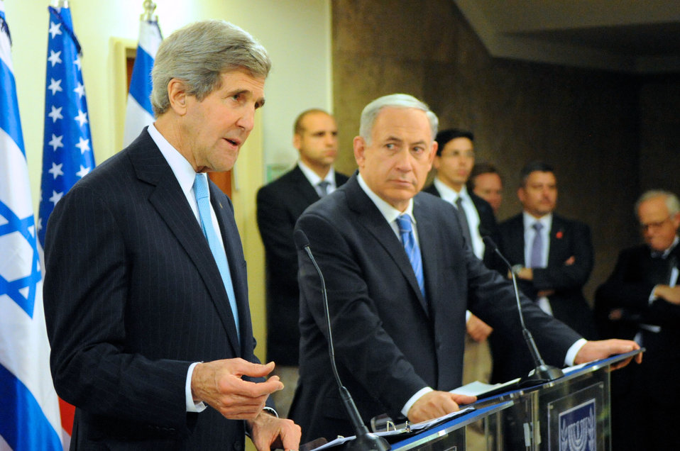 Secretary Kerry and Israeli Prime Minister Netanyahu Address Reporters