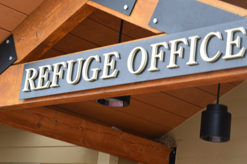 Refuge Office entrance