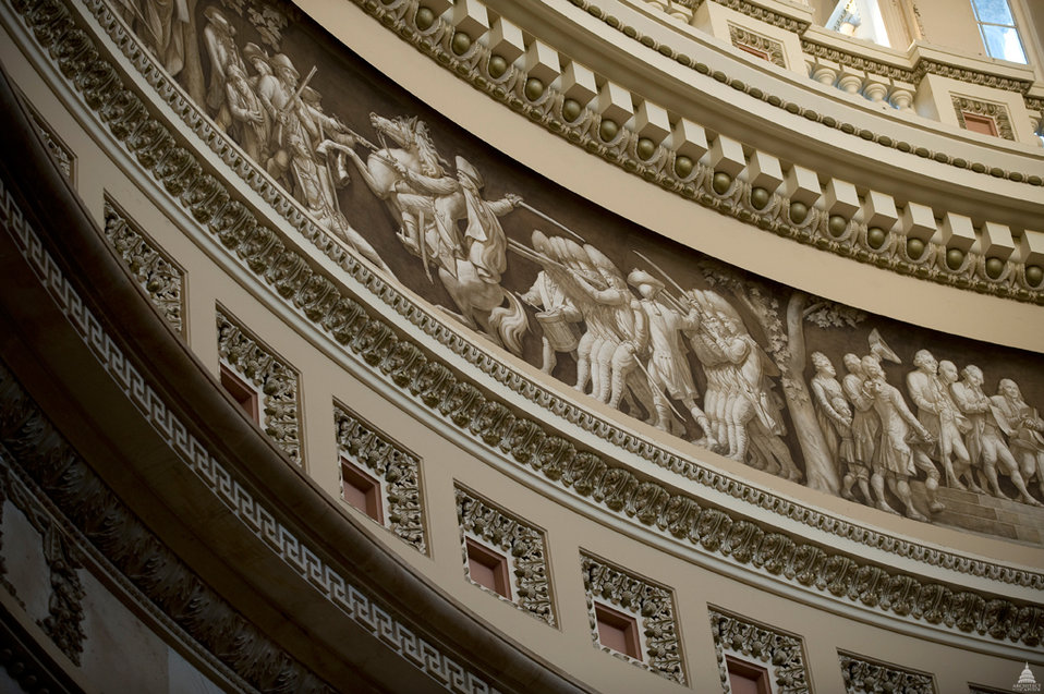 Frieze of American History - U.S. Capitol