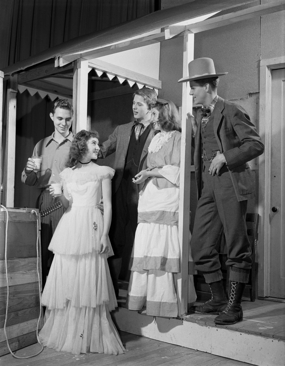 High School Play Oak Ridge 1947