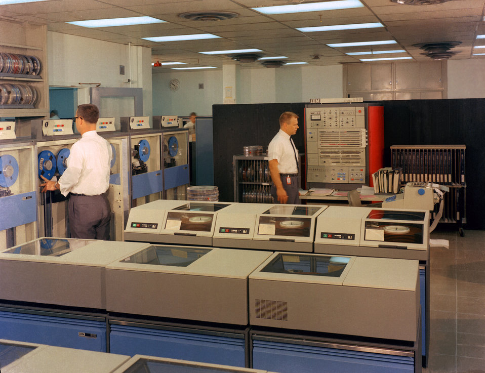 Control Data Processing IBM equipment Oak Ridge