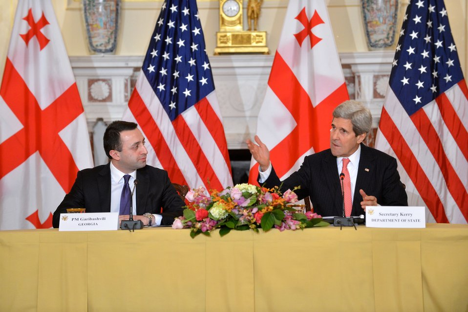 Secretary Kerry and Georgian Prime Minister Garibashvili Address the U.S.-Georgia Strategic Partnership Commission Plenary Session