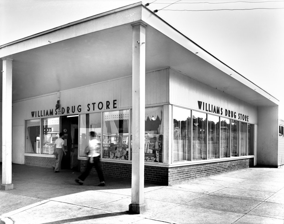Williams Drug Store Jackson Square Oak Ridge 1950