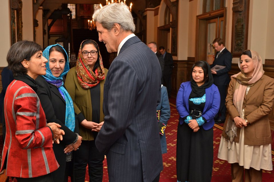 Secretary Kerry Meets With Afghan Women