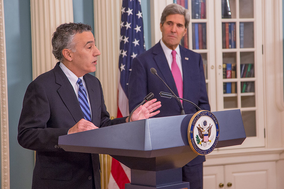 Ambassador Goldberg Delivers Remarks at his Swearing-In Ceremony
