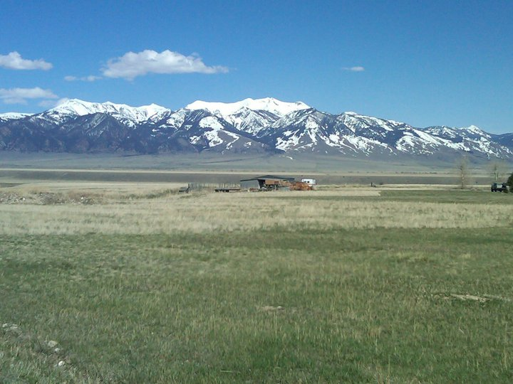 Scenic View in Montana