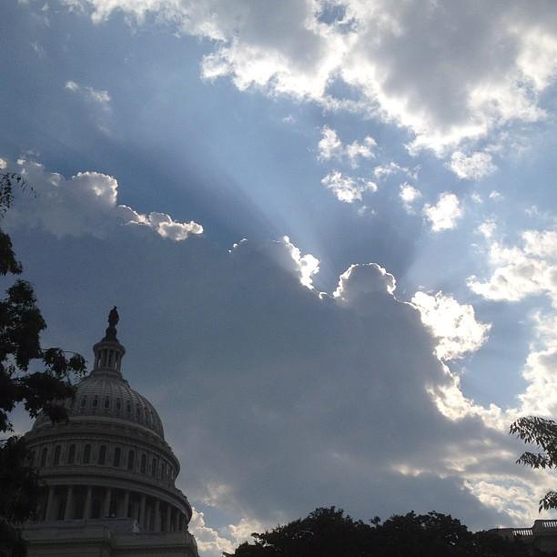 Beautiful Friday morning at the Capitol.