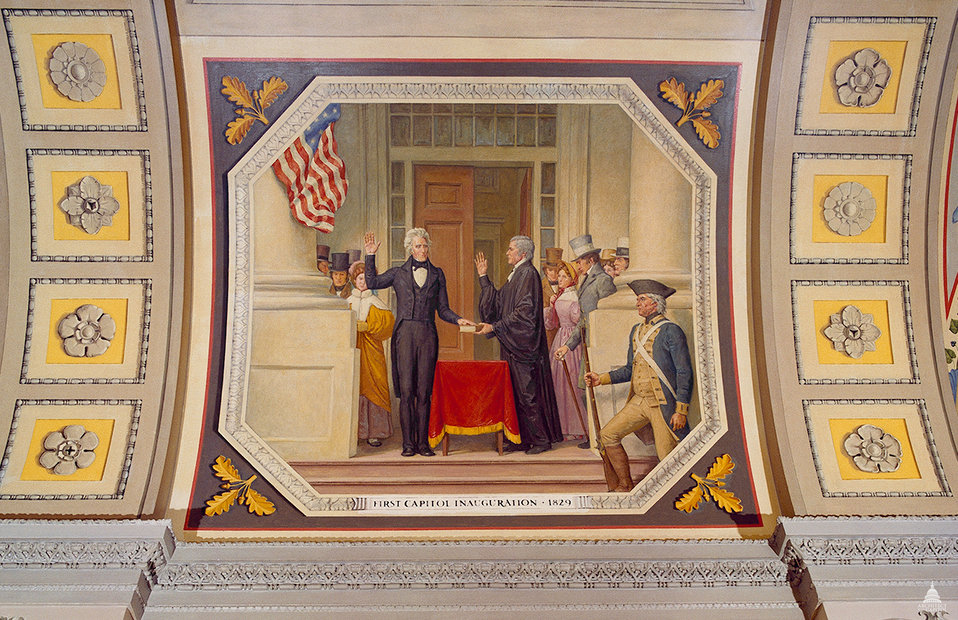 First Capitol Inauguration, 1829
