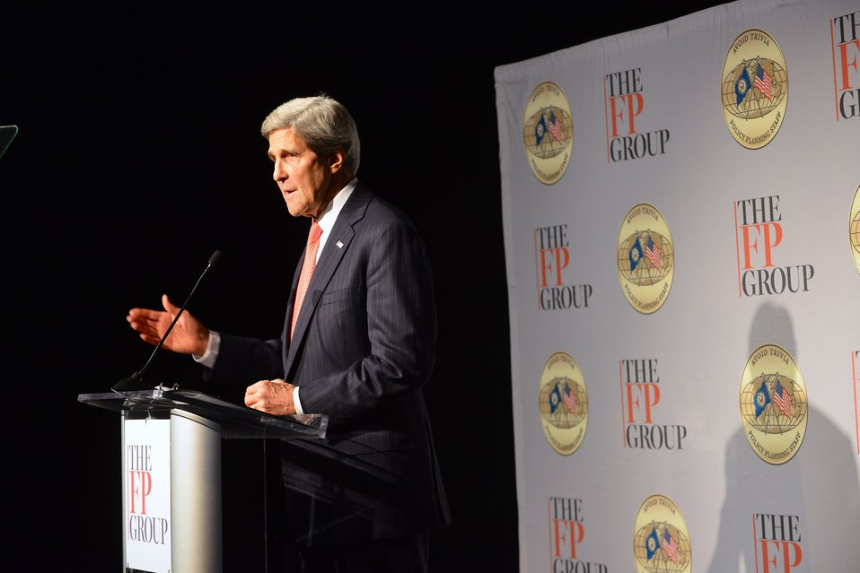 Secretary Kerry Delivers Remarks at the Transformational Trends Strategic Forum