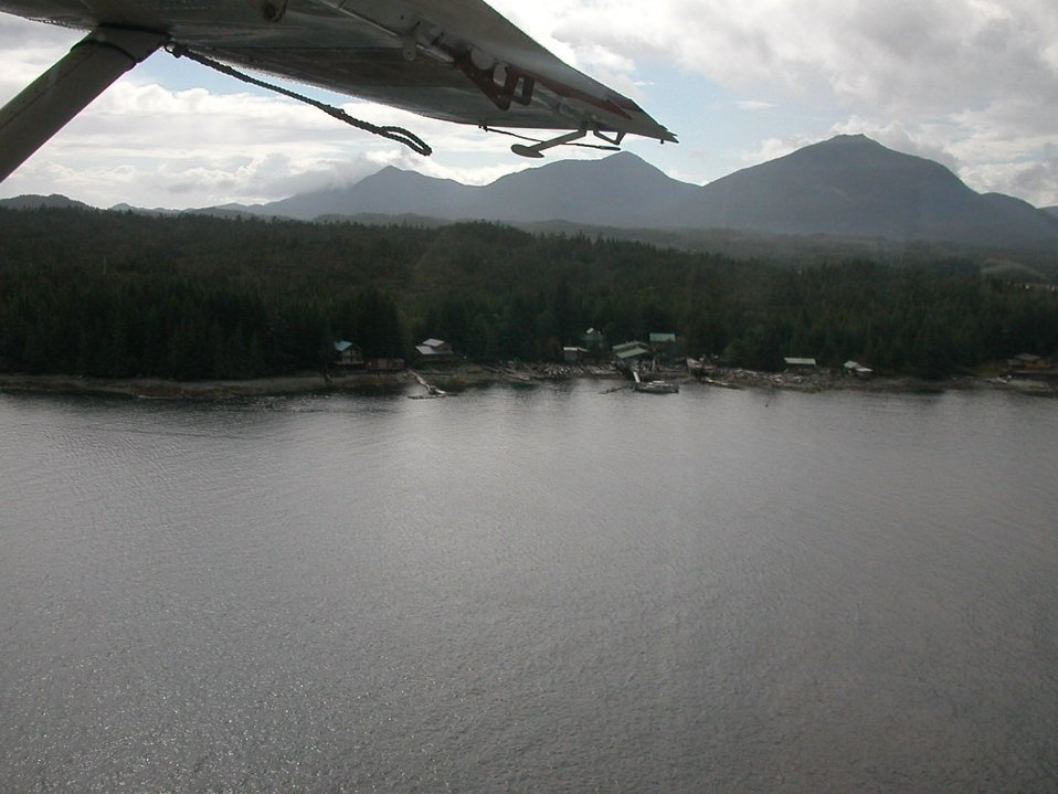 Float plane tourist ride out of Ketchikan.