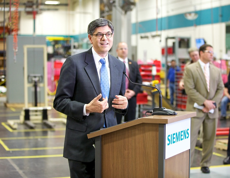 Secretary Lew visits Atlanta during first official trip