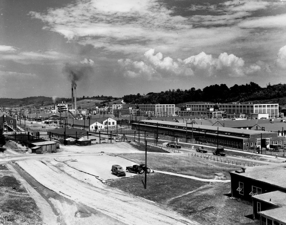 Y-12 Plant Area Oak Ridge 1945