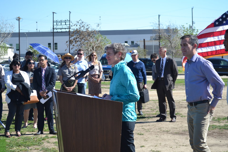 SOI Sally Jewell Visit to LA