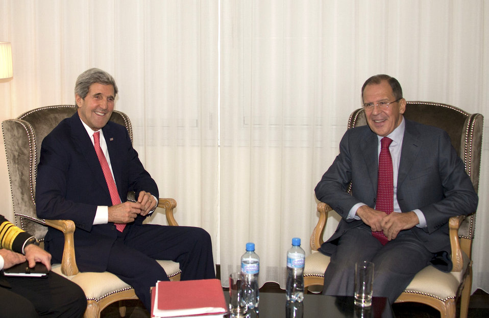Secretary Kerry Meets With Russian Foreign Minister Lavrov in Geneva