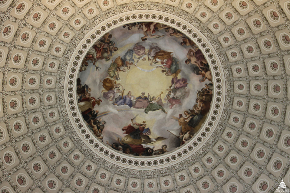 Apotheosis of Washington at 147 years old