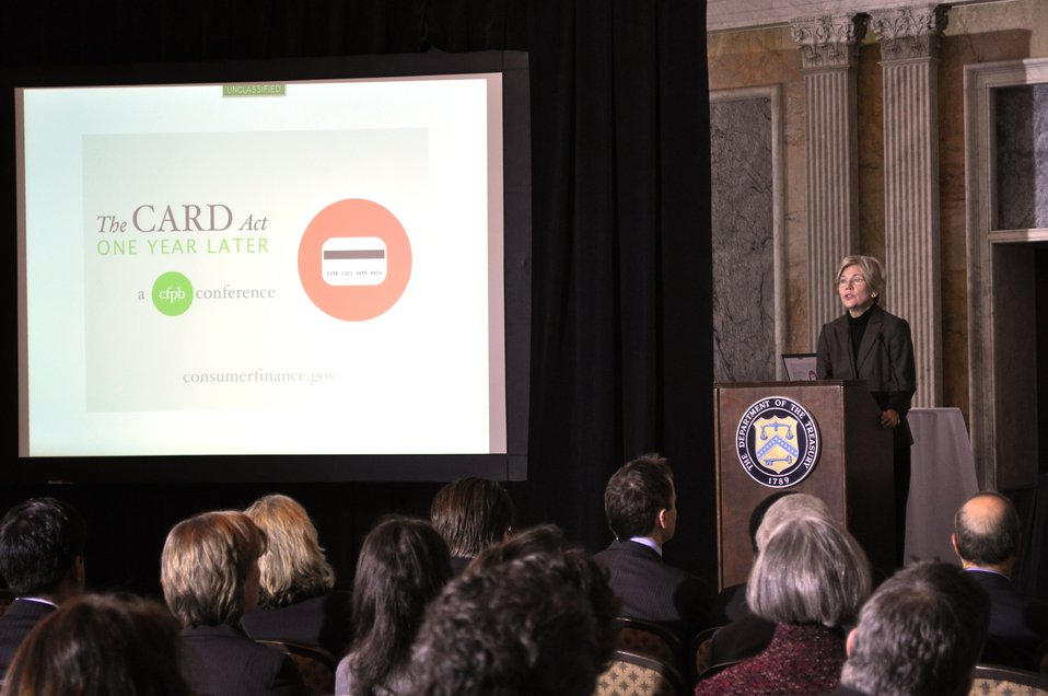 CFPB Conference on the Credit Card Act, 02/22/2011