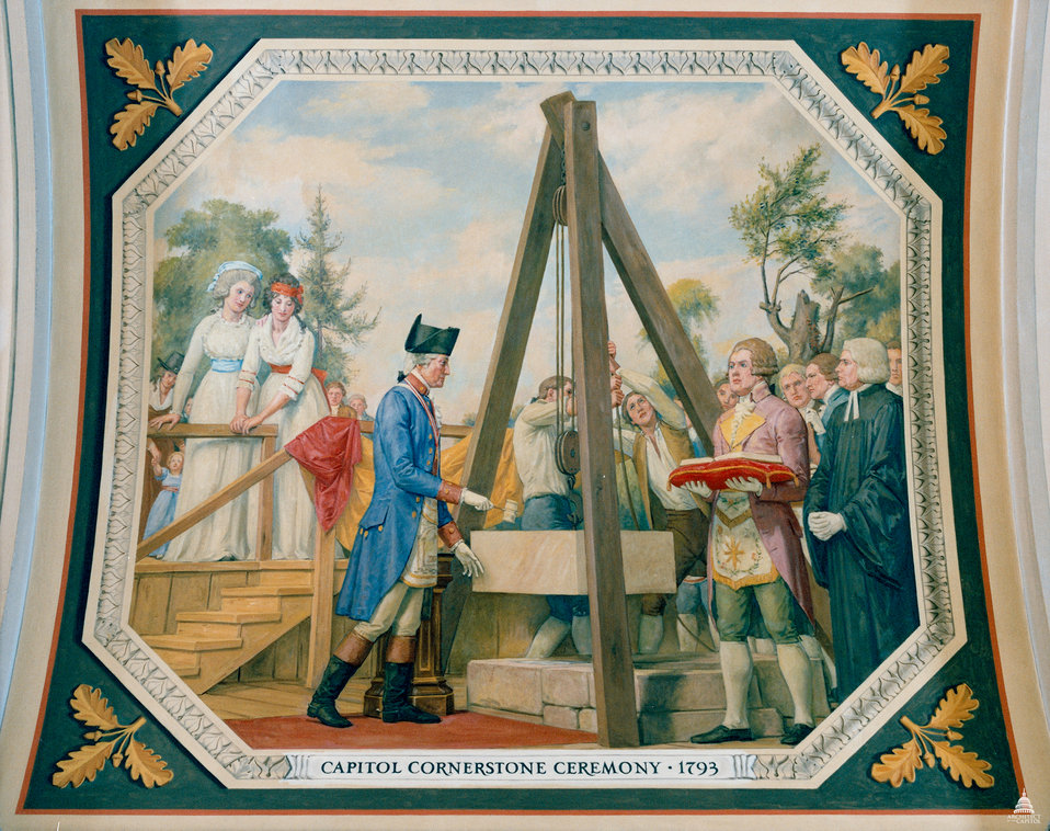 Capitol Cornerstone Ceremony - 1793