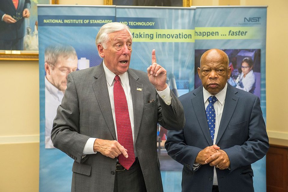 Congressman Hoyer and Congressman Lewis