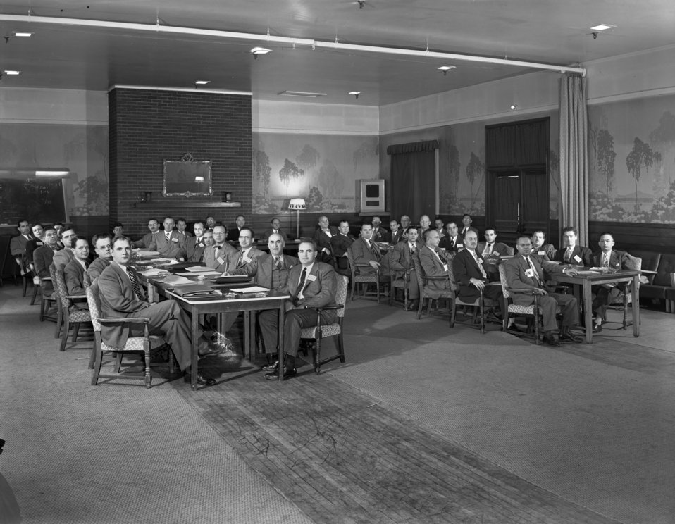 Finance and Budget Conference Ridge Hall Oak Ridge 1950
