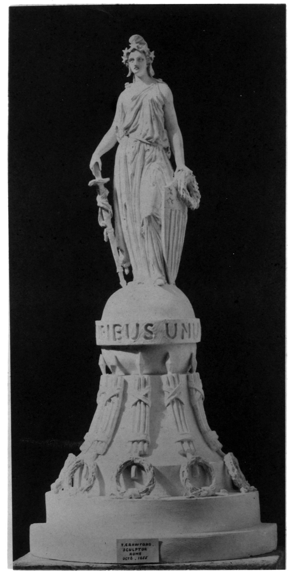 Second Design for the Statue of Freedom