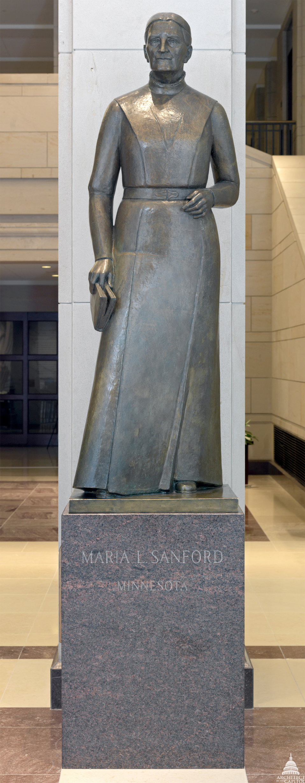 Maria L. Sanford Statue