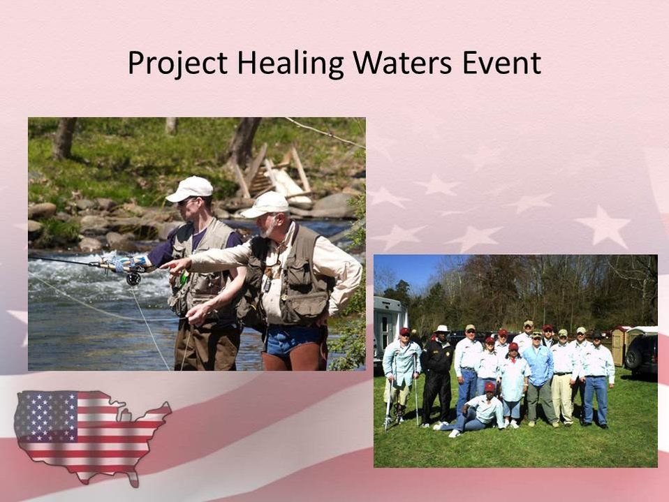 Patuxent Refuge Fishing Event with Project Healing Waters
