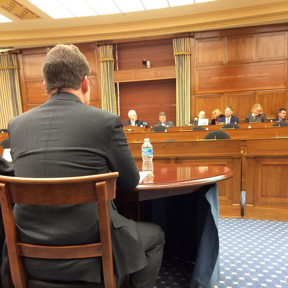 Dr. Romine Testifies Before Congress