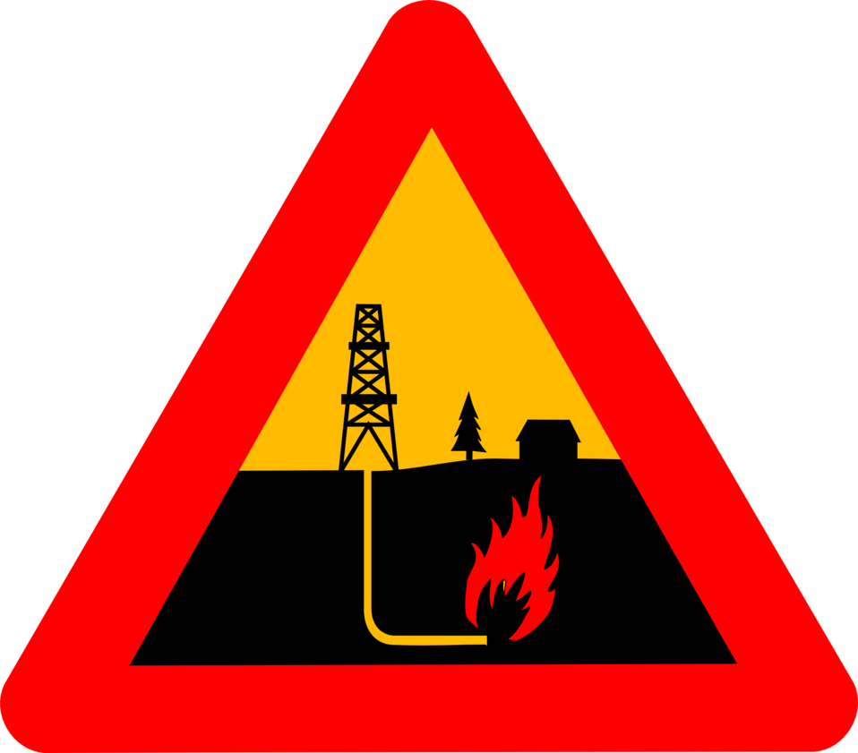 Warning shale gas