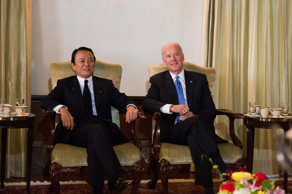 Vice President Biden Meets With Japanese Political Leaders