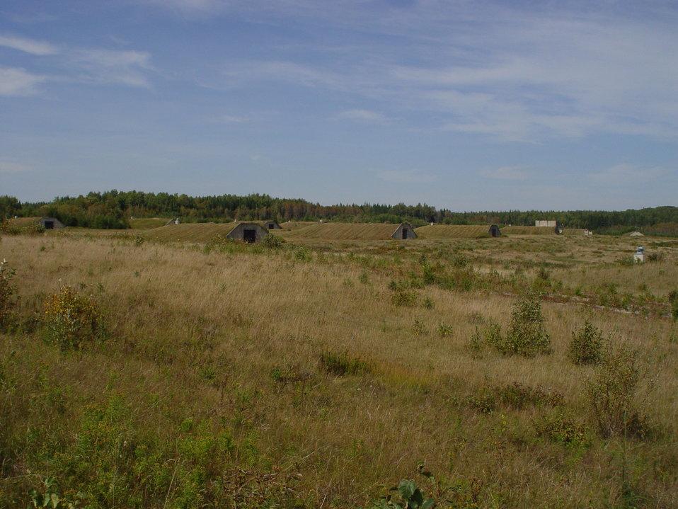 Bunkers at Aroostook NWR