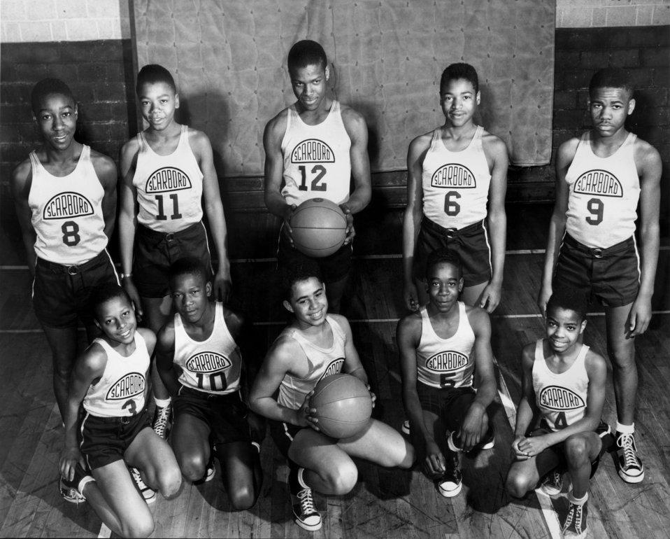 Scarboro boys basketball team Oak Ridge