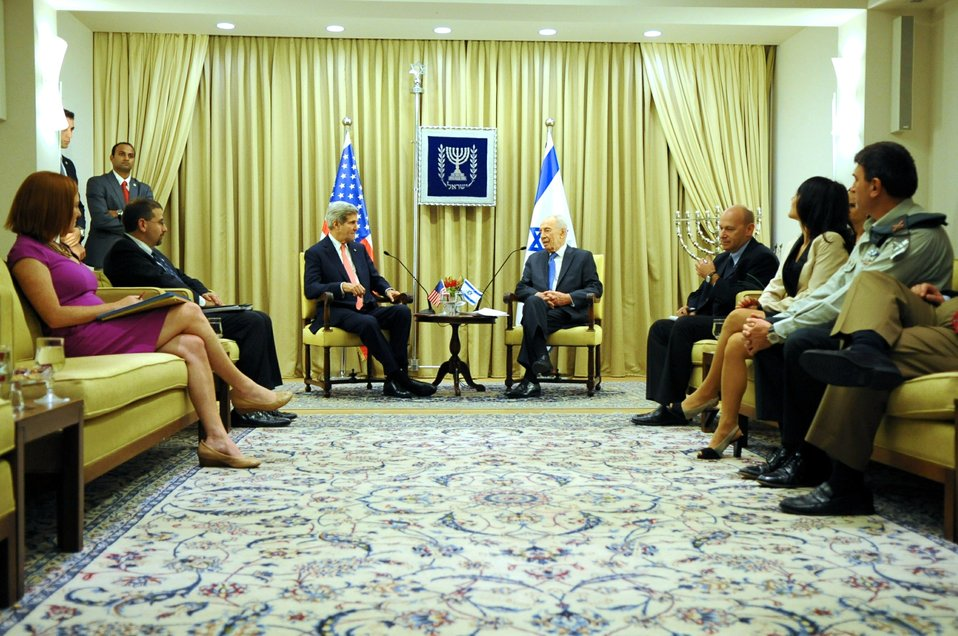 Secretary Kerry Speaks With Israeli President Peres