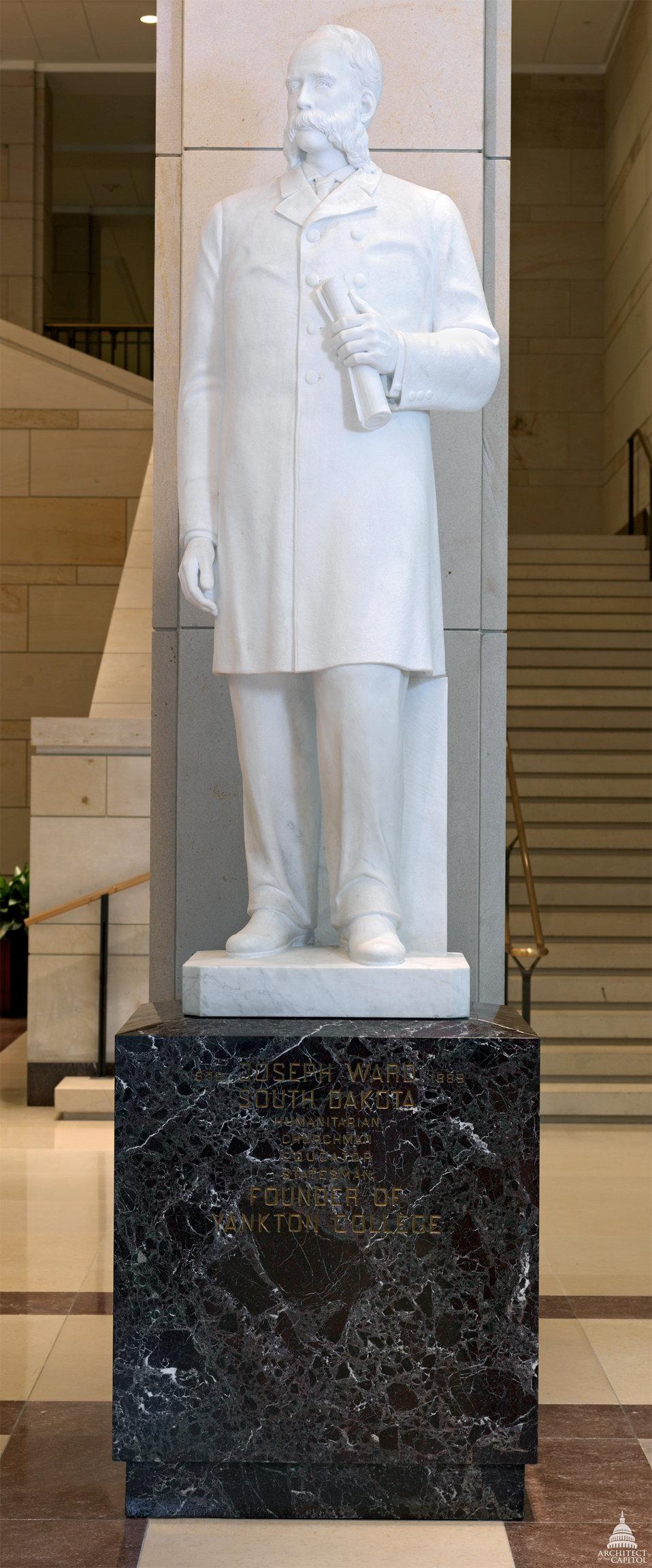 Joseph Ward Statue