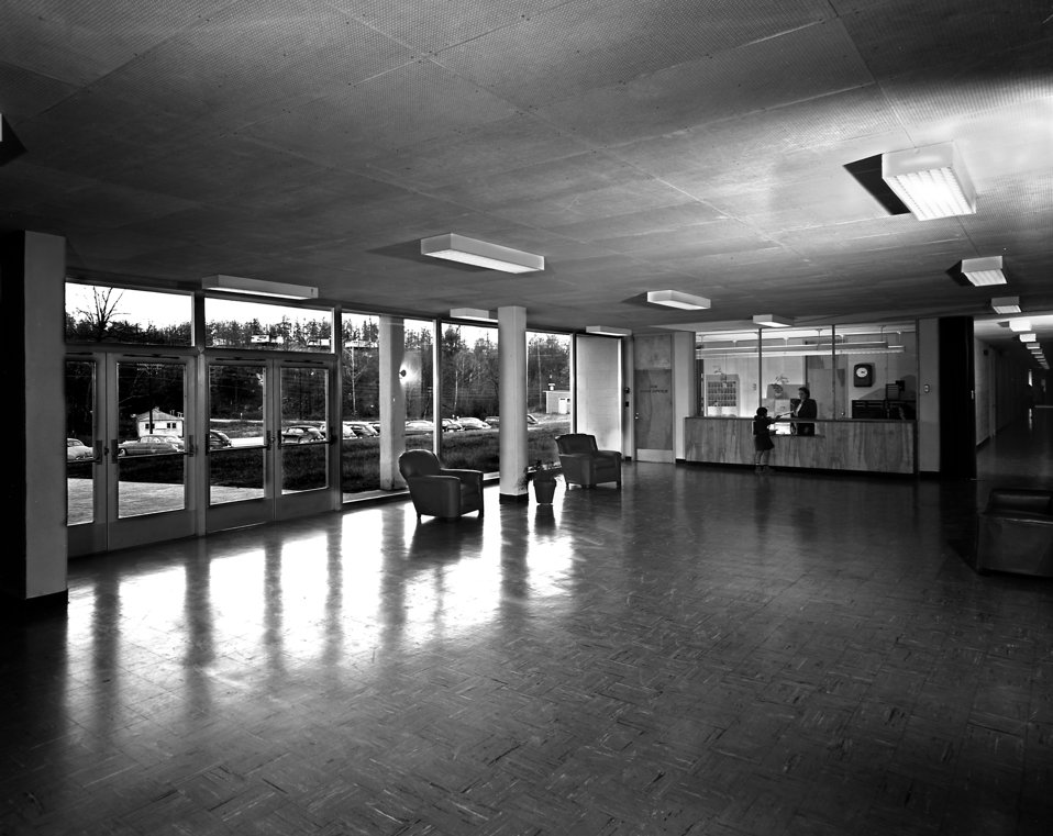 Willow Brook School Interior Oak Ridge 1949
